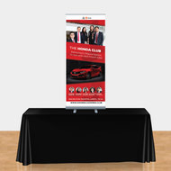 Retractable Table Top Banner Stands
